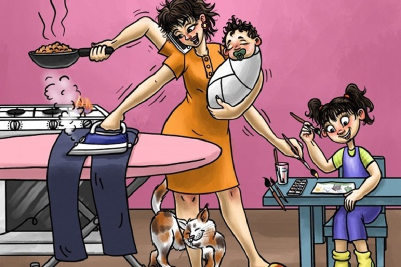6 kata mutiara romantis untuk ibu bersama anak
