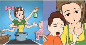 6 kata mutiara romantis untuk ibu dengan cinta anaknya