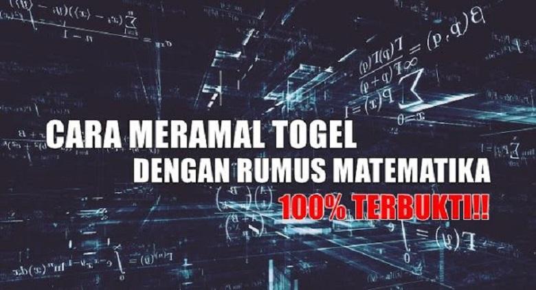 Photo of Meramal Togel Dengan Rumus Matematika, 100% Jaminan!