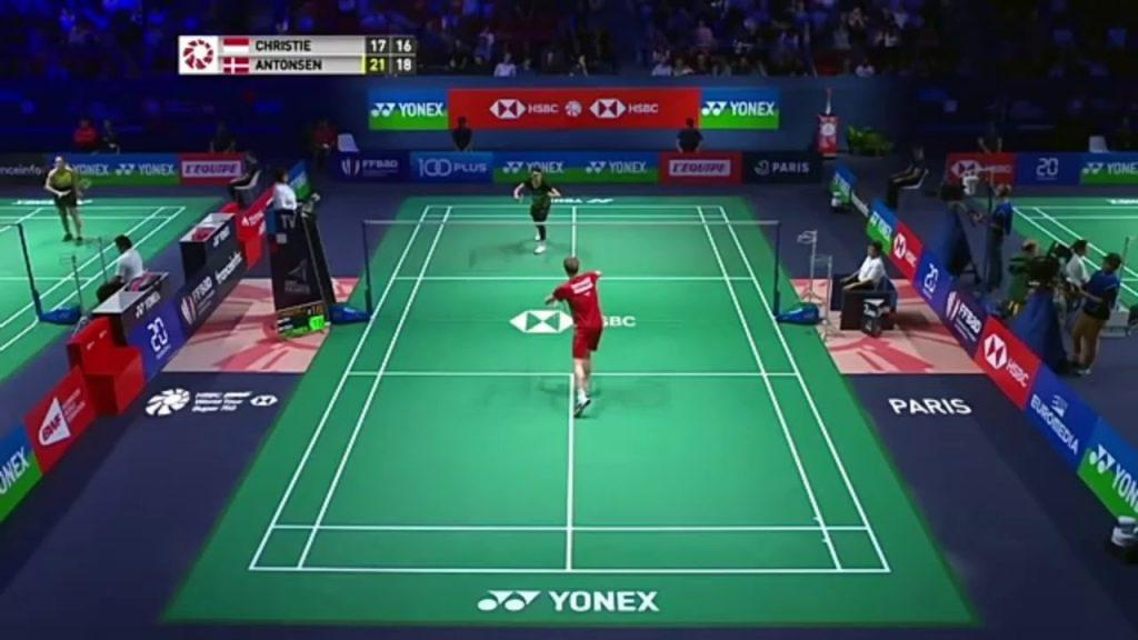 Jonatan Christie Tumbangkan Raja Bulutangkis Eropa di French Open 1