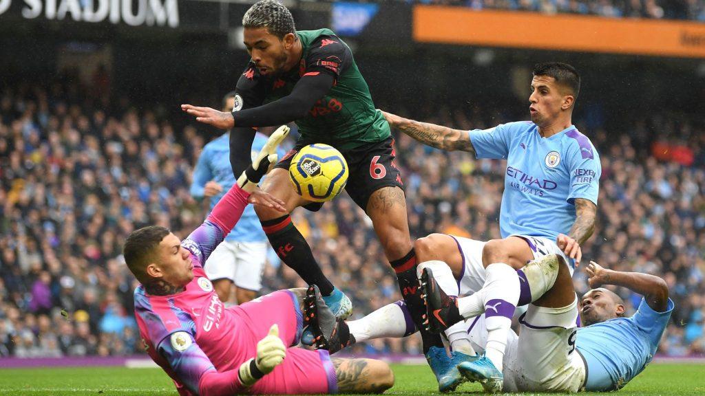 Man City Vs Aston Villa The Citizens Menang 3 0 1