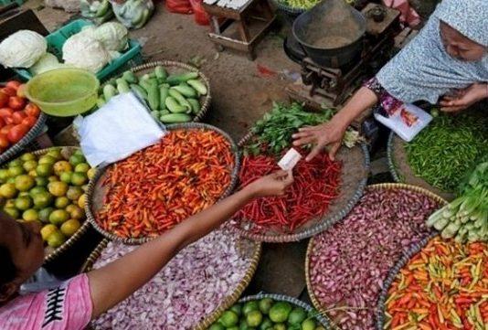 Transaksi Pasar Tradisional Seperti Tradisi Tawar Menawar Mulai Ditinggalkan Pembeli