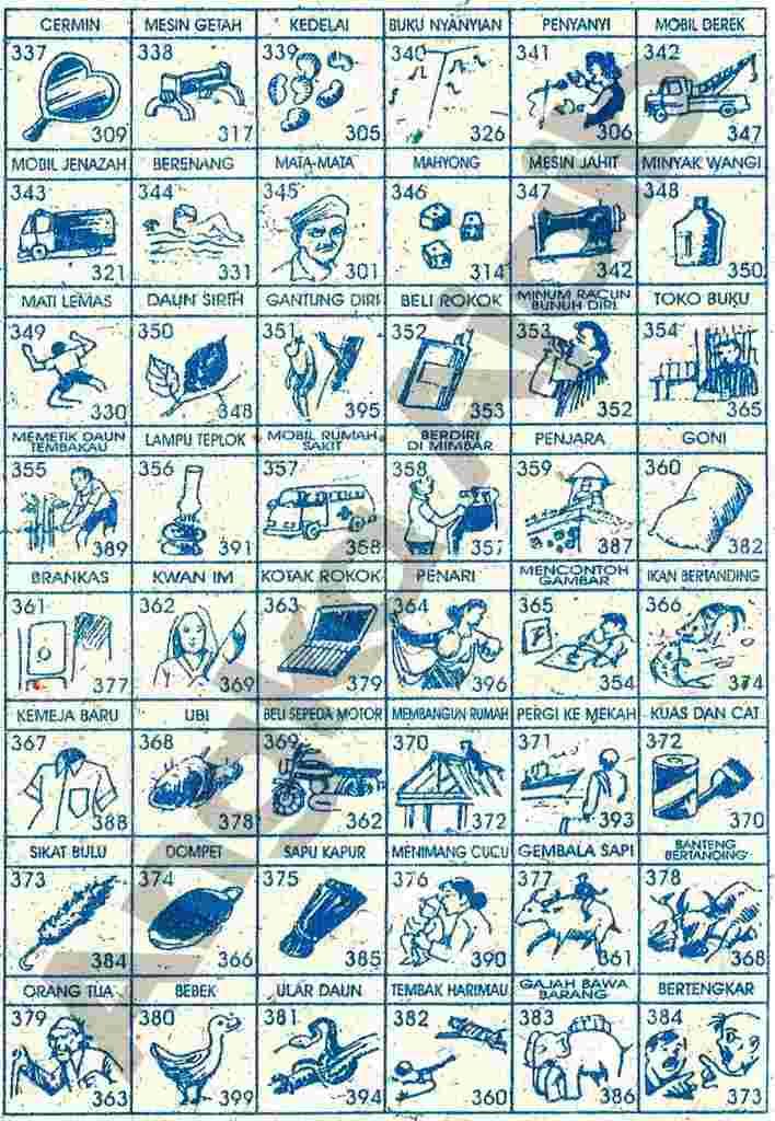 Buku Mimpi Togel 3d Lengkap Yang Paling Baru 16