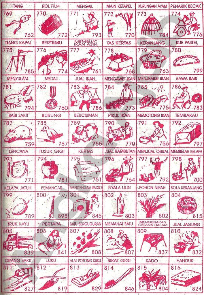 Buku Mimpi 3d Ikan Paling Jelas 34