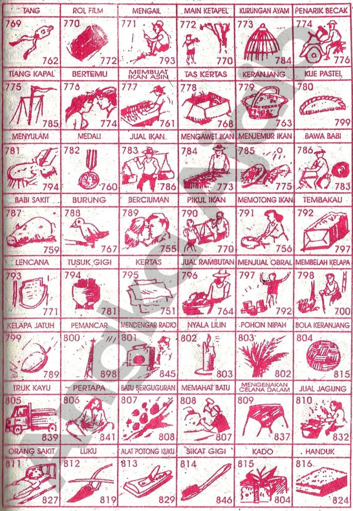 Buku Mimpi 3d Potong Rambut Paling Jelas 34