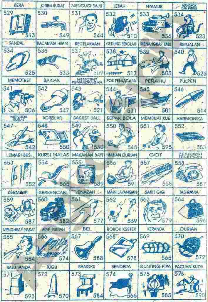 Buku Mimpi Togel 4d 3d 2d Yang Paling Baru 66