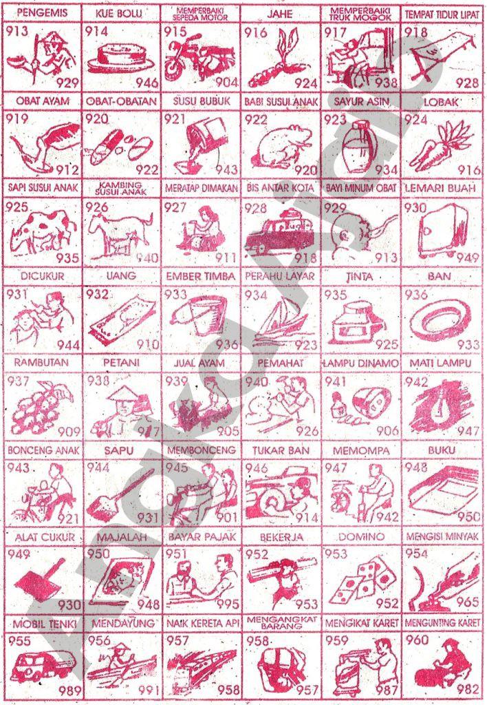 Buku Mimpi Erek Erek 2d 3d 4d Bergambar Paling Jelas 40