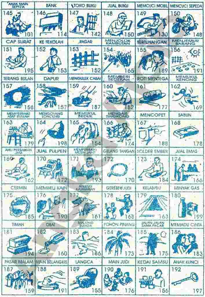 Buku 1000 Mimpi 3d Abjad Yang Paling Baru 8