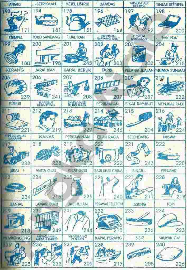 Buku Mimpi 3d Gambar Paling Jelas 10