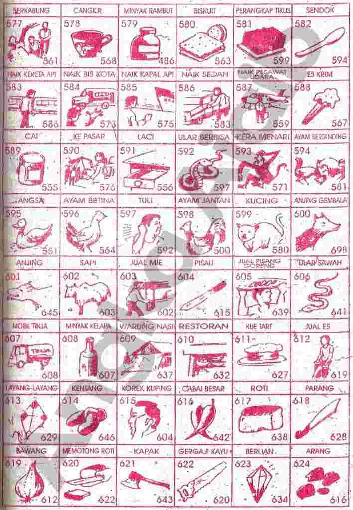 Buku Mimpi 3d Burung Paling Jelas 26