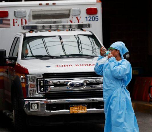 Ketika kasus muncul, 3 dari 4 rumah sakit AS sudah menghadapi COVID-19