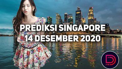 Photo of Prediksi Togel Singapore 14 Desember 2020