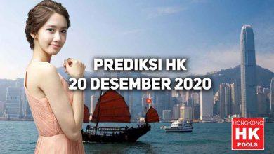 Photo of Prediksi Togel Hongkong 20 Desember 2020