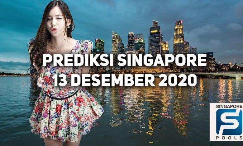 Prediksi Togel Singapore 13 Desember 2020 1