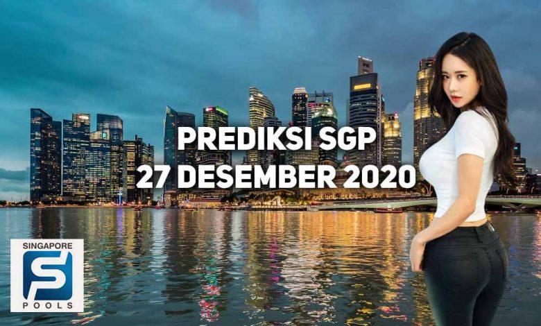 Prediksi Togel Singapore 27 Desember 2020 1