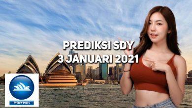 Photo of Prediksi Togel Sydney 3 Januari 2021