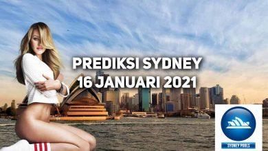 Photo of Prediksi Togel Sydney 16 Januari 2021