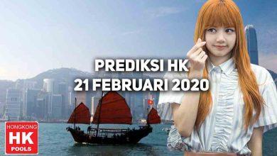 Photo of Prediksi Togel Hongkong 21 Februari 2021